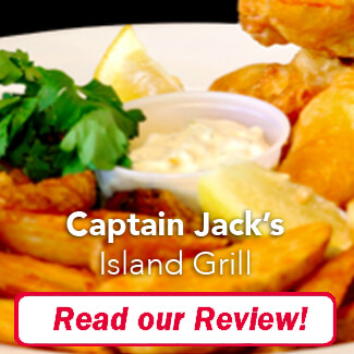 Captain Jack's Island Grill Review